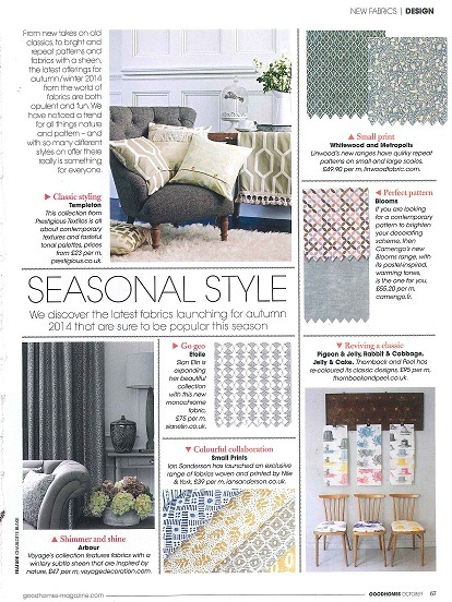 Good Homes  October Ian Sanderson