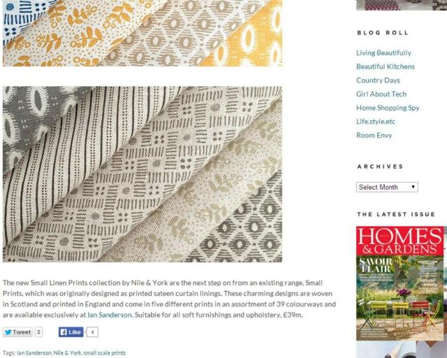Homes & Gardens Passion for Pattern
