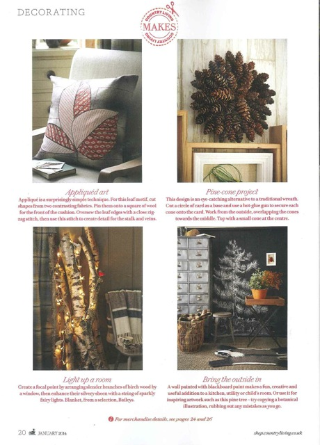 Country Living January Issue