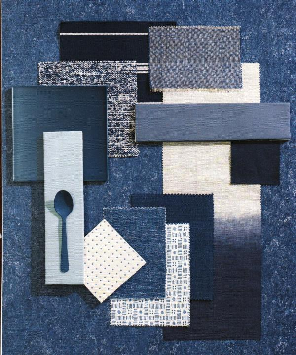 Moodboard Modern Blue and White