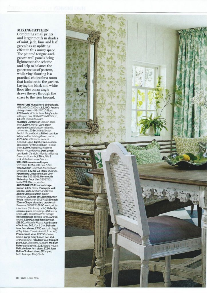 Homes & Gardens July N&Y, R& W