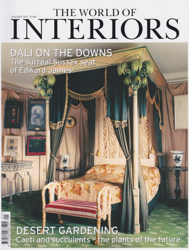 World of Interiors Jan 17cover