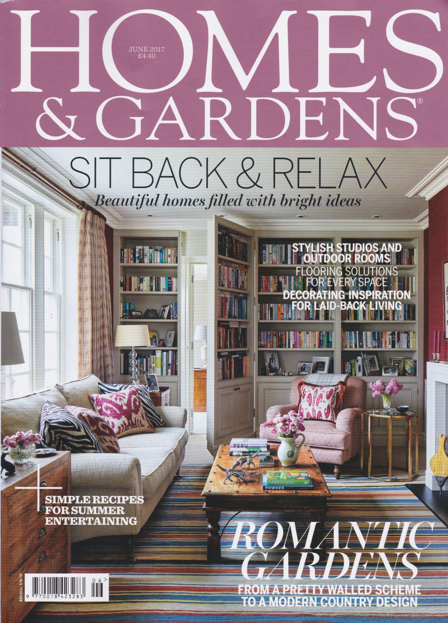 Homes and Gardens June 2017 Nile & York Wallpapers Nile and York