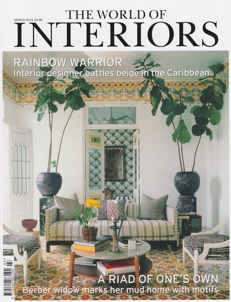 in this months issue of world of interiors magazine they have created an inspiring photoshoot including our new classical garden design in yellow used to